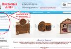 Интернет магазин храма во имя святителя Луки