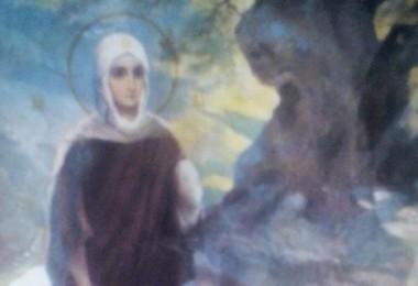 Богородица идёт к Елисавете