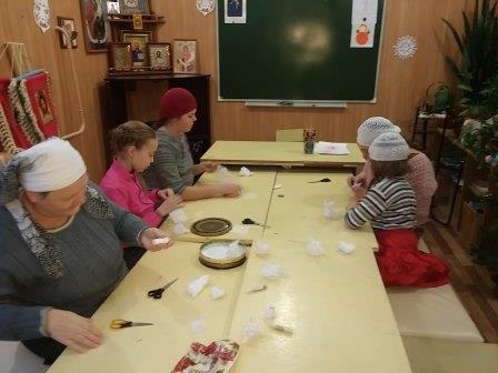 Мастер-класс в Детской воскресной школе