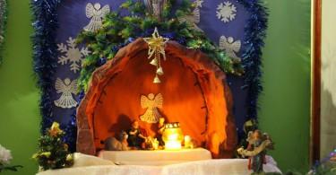 Фотоотчёт с Рождественской службы