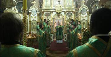 Встреча с митрополитом Кириллом