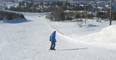 Небо, сноуборд, бублики