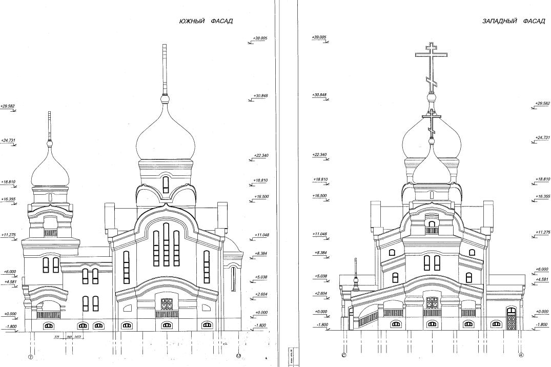 Проект Храма святителя Луки Крымского