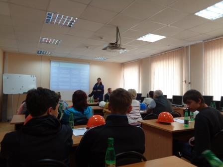 """Проект """"Правильный выбор"""", экскурсия в Газпром"""
