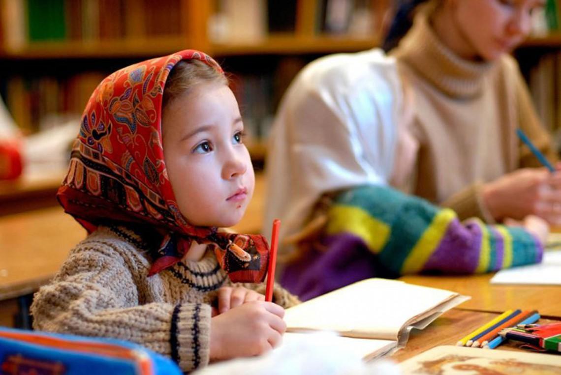 Молитва перед началом обучения