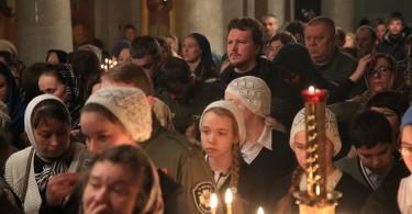 День Державной иконы Божией Матери в Храме-на-Крови