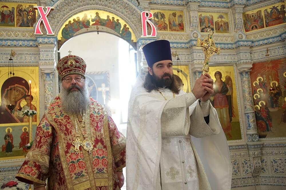 иерей Димитрий Бажанов и митрополит Екатеринбургский и Верхотурский Кирилл