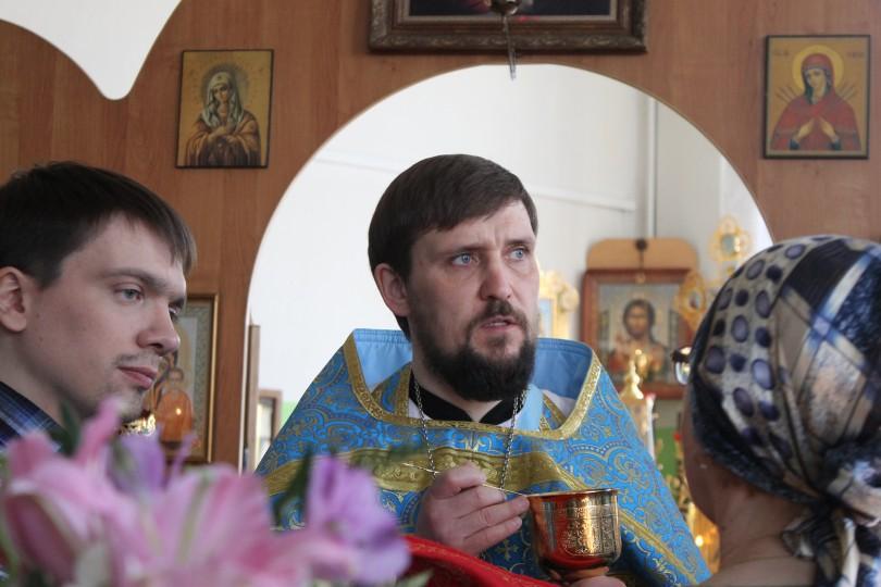 Благовещение в Храме святителя Луки