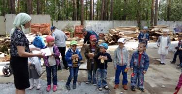 Ученики воскресной школы храма свт. Луки. Репетиция праздничного концерта