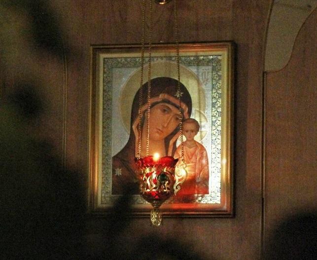 Икона казанской Божьей Матери Храм святителя Луки Крымского, Екатеринбург
