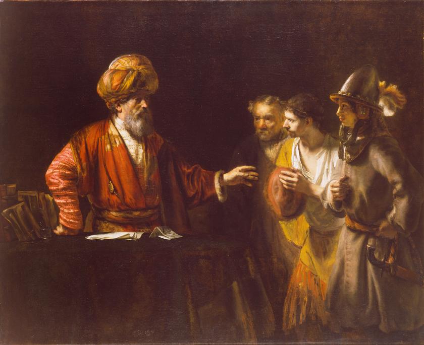 Рембрандт. О немилосердном должнике