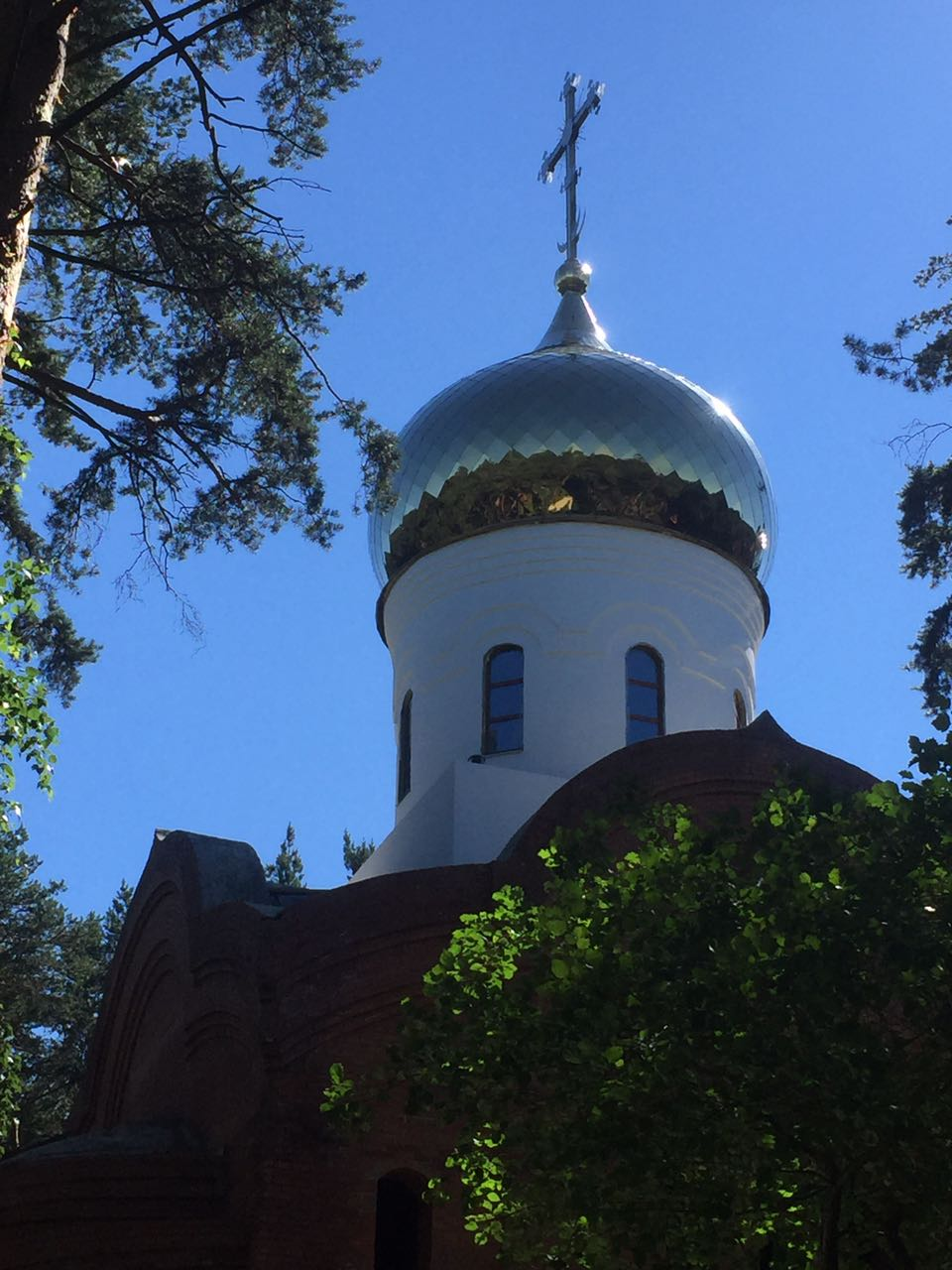 храм святителя Луки в Екатеринбурге. Июль 2017 г.