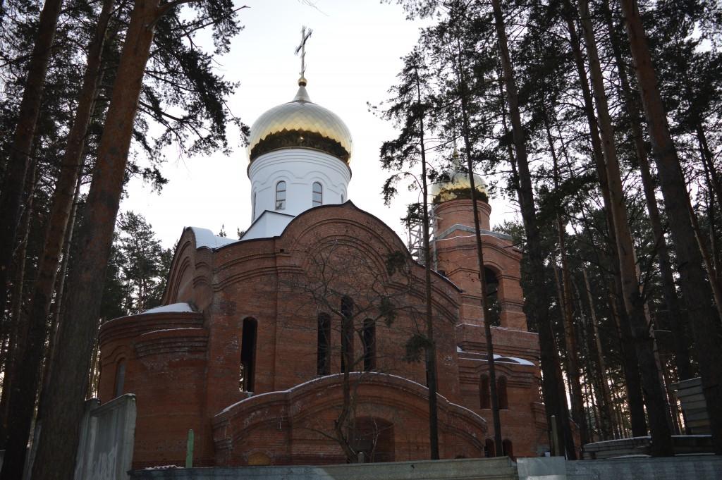 храм святителя Луки Крымского Екатеринбург