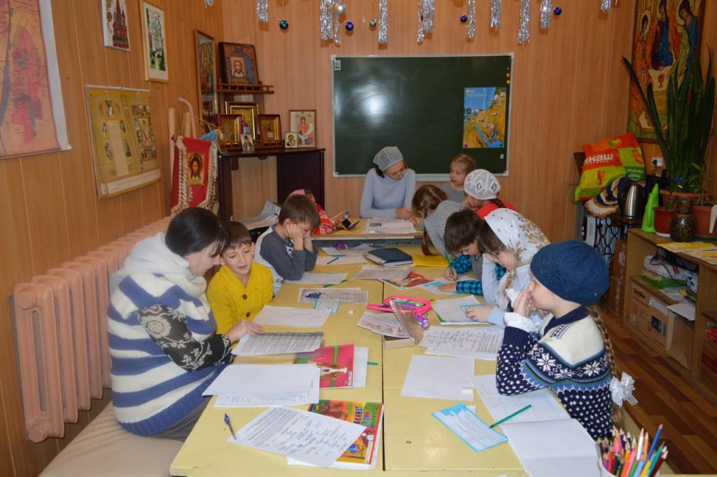 воскресная школа храма свт Луки Крымского