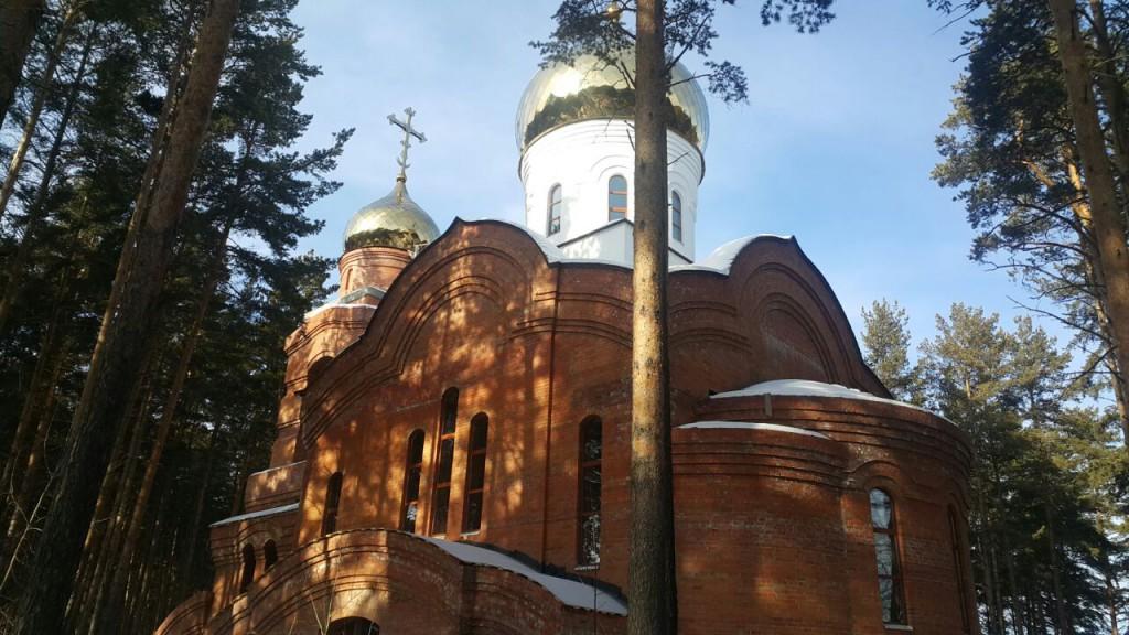 строительство храма святителя Луки Крымского в Екатеринбурге