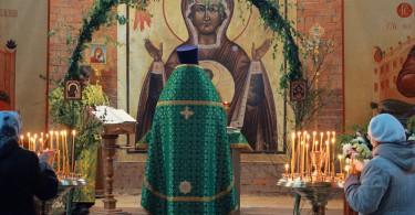 Троица в храме Святителя Луки