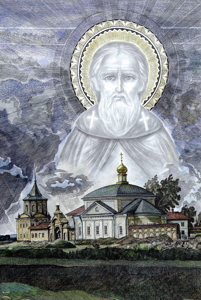Местечко Врницы Ярославской области. Родина Сергия Радонежского. 2007.