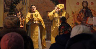 литургия в храме святителя Луки