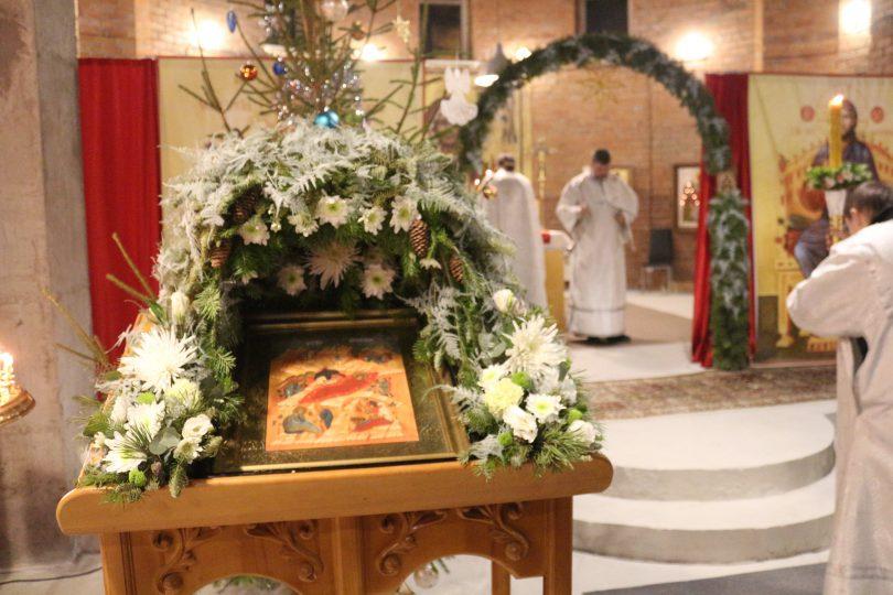 рождество христово в храме луки