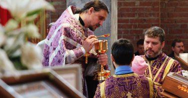 литургия в 5-ю неделю великого поста