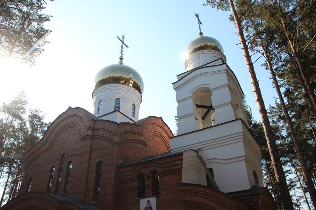 Храм Луки Крымского май 2019