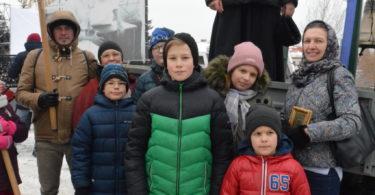 Воспитанники Воскресной школы храма Святителя Луки