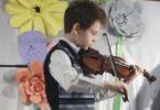 скрипка мальчик