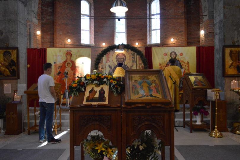 икона Святых первоверховных апостолов Петра и Павла